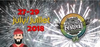 Consulter notre page sur le Festival du patrimoine des bûcherons