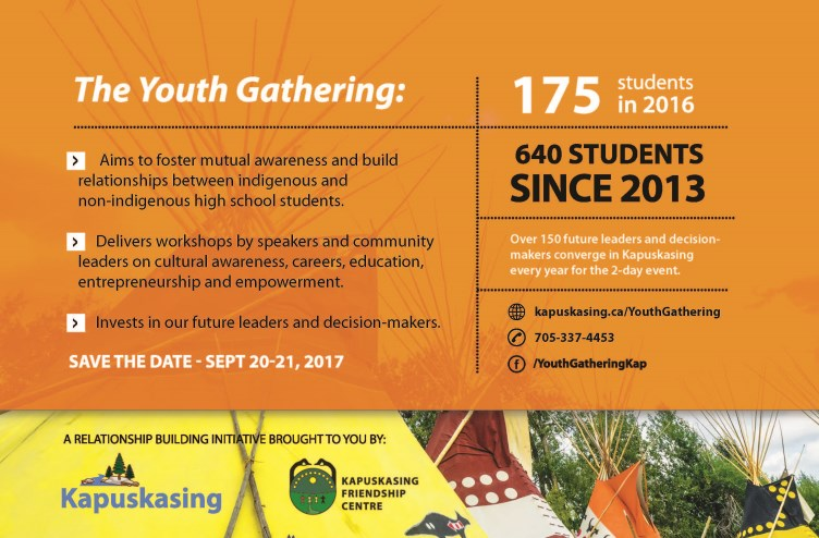 2017 Youth Gathering Save the Date